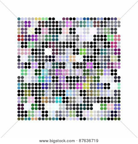 Abstract Illustrated Powerful And Decorative Background Pattern