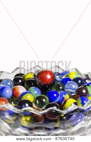 Marbles In Bowl