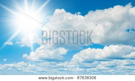 Cloudy Outdoor Heaven Wallpaper