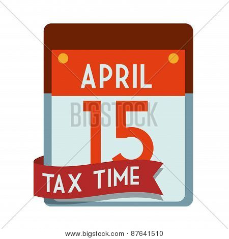 Taxes design, vector illustration.