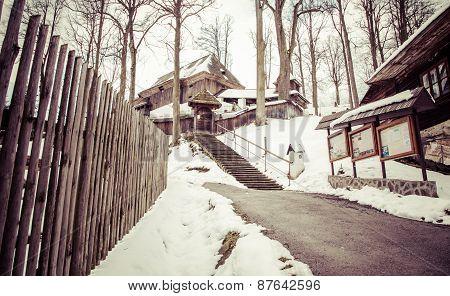 Wooden Church At Lestiny, Slovakia