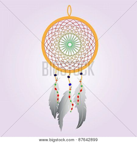 Indian Dream catcher Color
