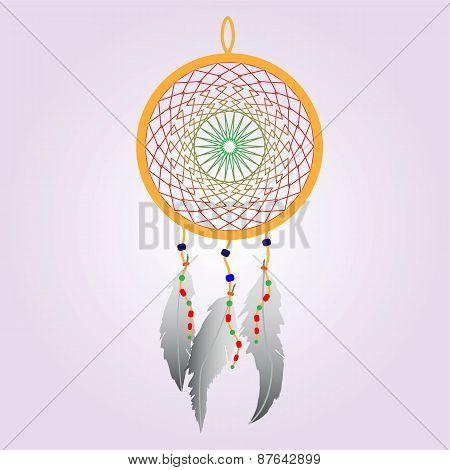 Indian Dream catcher Color