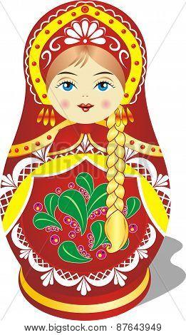 Russian Toy Matryoshka Doll [