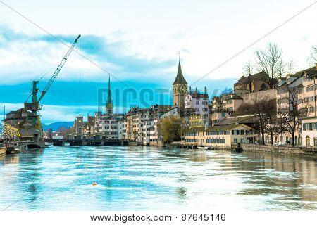 Zurich in Switzerland, Europe
