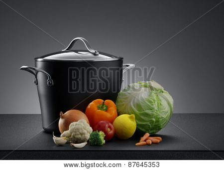 pot and veggie