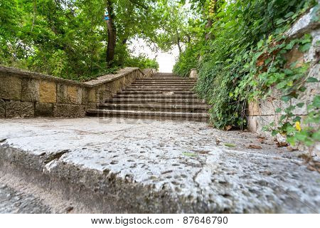 Stairs To The Street
