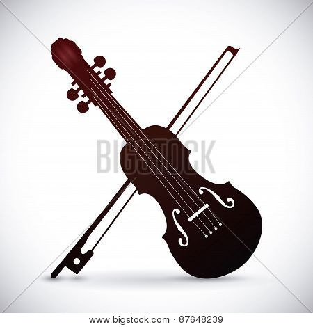 Violin design.