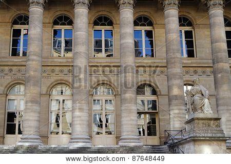 Palais de la Bourse in Pars