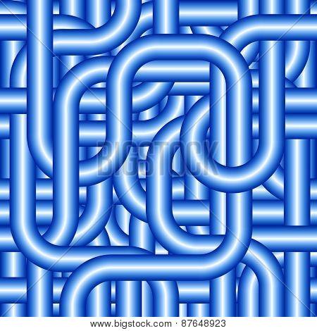 Seamless tubing pattern.