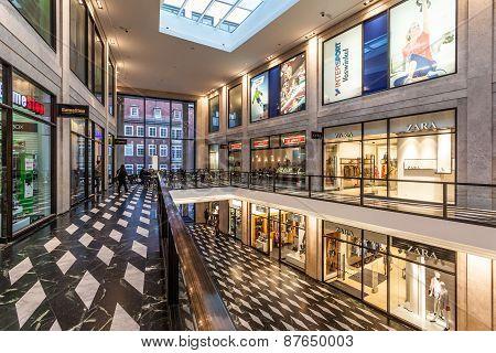 Modern Shopping Center In Munster