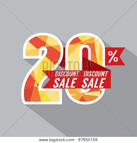 Discount 20 Percent Off.