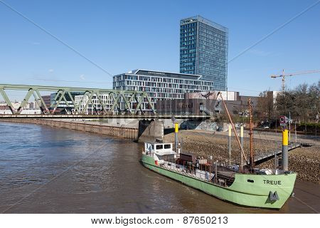 Old Ship In Bremen, Germany