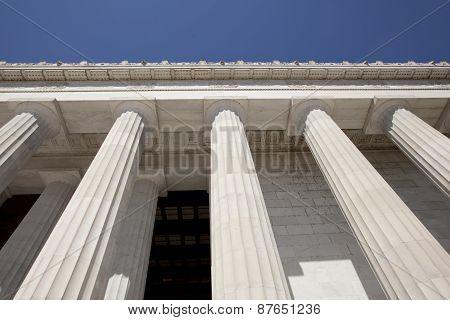 Lincoln Memorial Coloumns