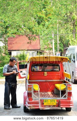 Traditional Street Taxi