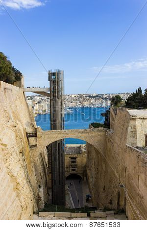 One of the most beautiful parks in Valletta,