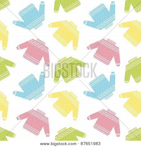 colorful sweaters pattern