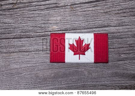 Rustic Canadian Patch