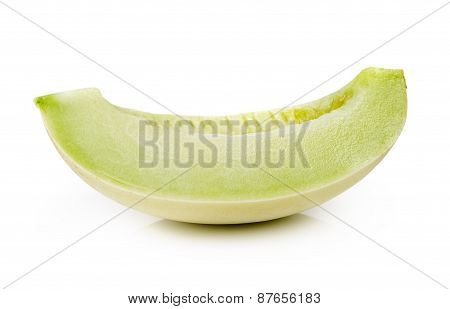 Cantaloupe Melon Isolated On White Background a
