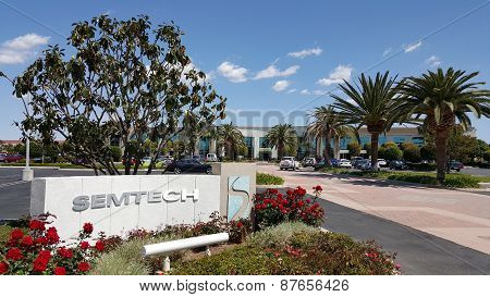 Headquarter office of Semtech, CA