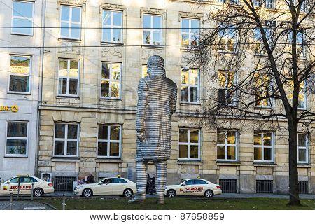 Statue Of Graf Maximilian Joseph Von Montgelas