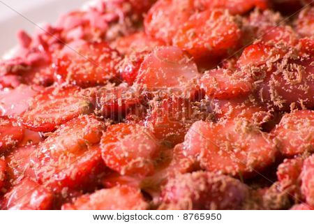 Cut Strawberries