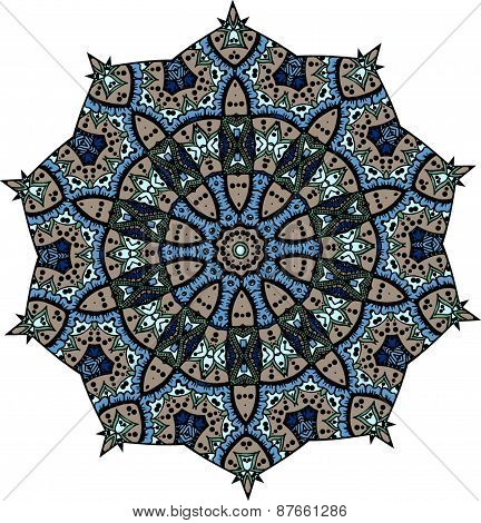 Ethnic indian mandala