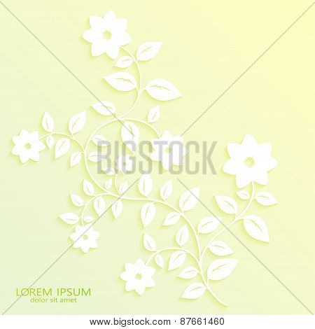 Seamless floral pattern wallpapers in the style of Baroque . Can be used for backgrounds and page fi