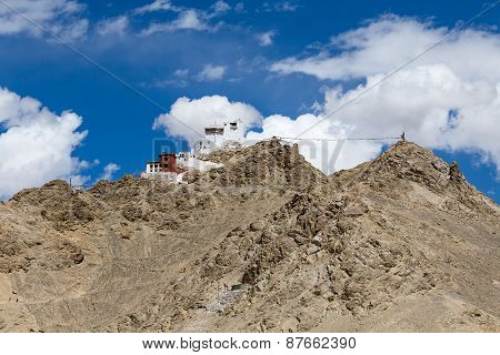 Fort And Namgyal In Leh, Ladakh, India