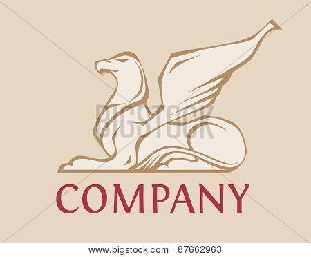 Griffin - vector logo template