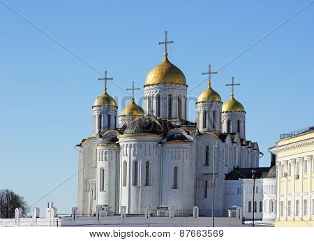 Dormition Cathedral In Vladimir