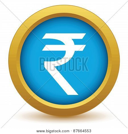 Gold rupee icon