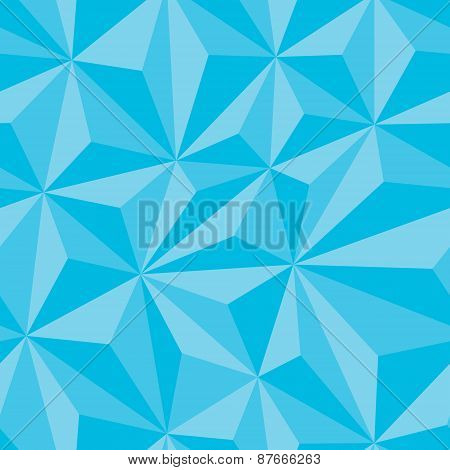Abstract Seamless Background with Relief Triangles