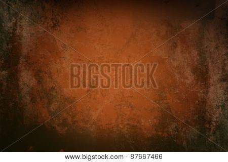 orange  grunge background