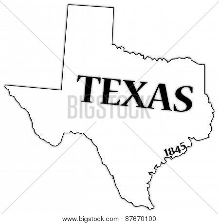 Texas State And Date