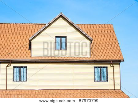 House With A Gable Roof Window
