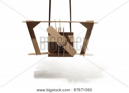 Cardboard Biplane