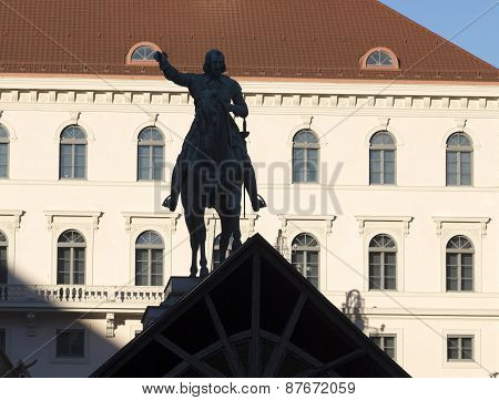 Equestrian Statue Of Maximilian I In Munich, Built 1820