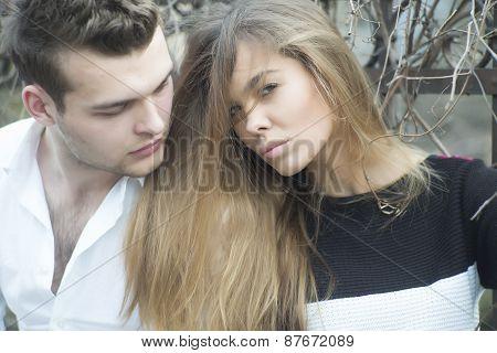 Beautiful Girl And Guy
