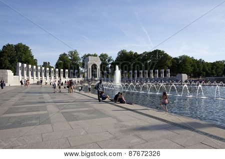 World War II Memorial in Eashington D.C.