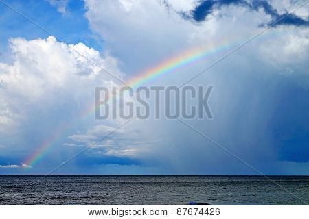 Rainbow And The Cloud      South China Sea