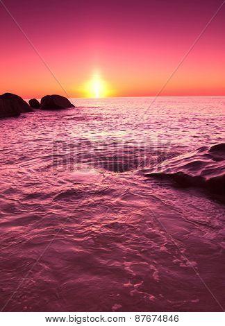 Shore Landscape Evening