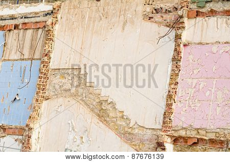 Demolished Wall