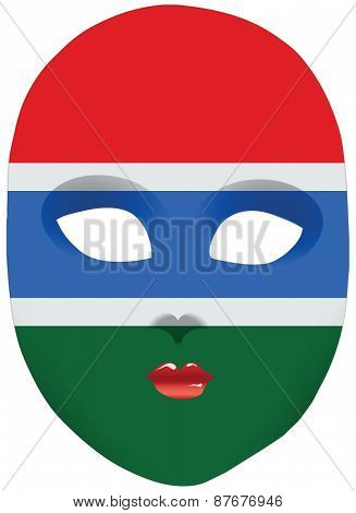 Gambia Mask