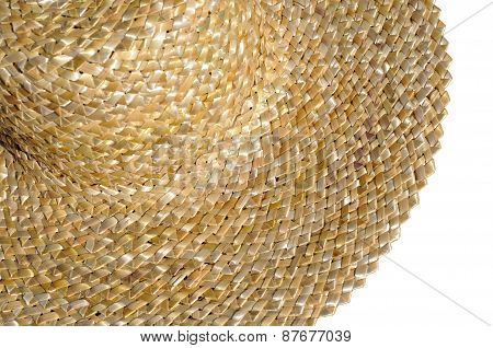 Traditional Ukrainian Straw Hat