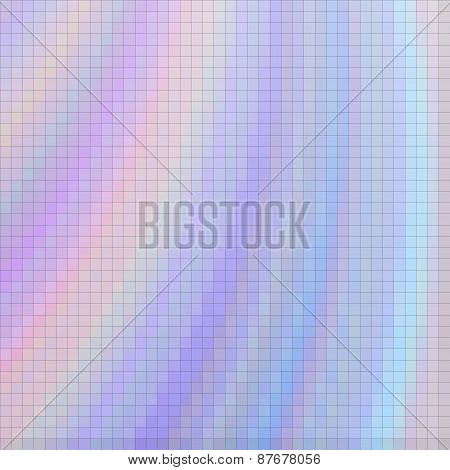 Pastel Colored Pixel Mosaic Background