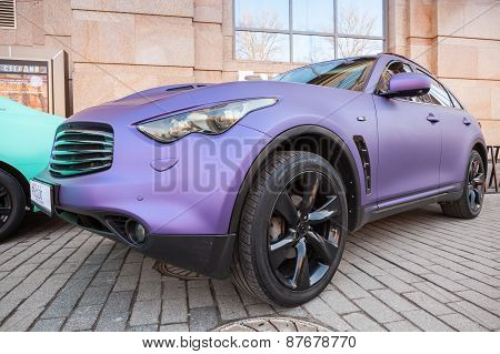 Infinity Rx 37 Car With Purple Matte Paintings