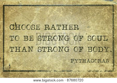 Strong Of Soul Pyth