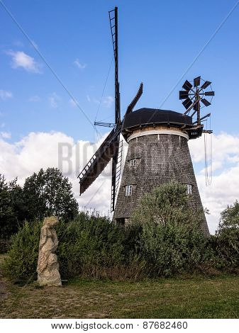 A Wind Mill In Benz