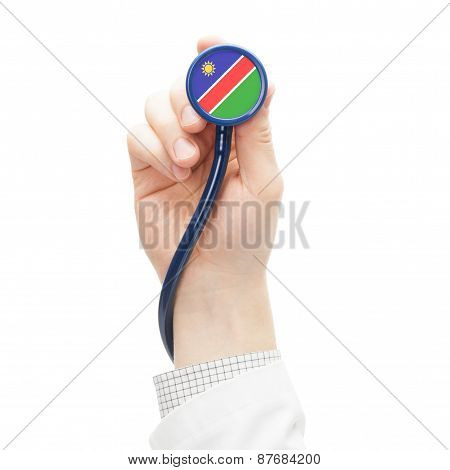 Stethoscope With National Flag Series - Namibia